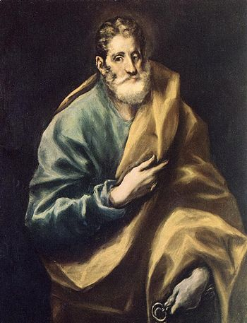 El Greco - Apostle St Peter - WGA10592
