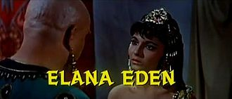 Elana Eden - With Thayer David in the theatrical trailer for The Story of Ruth (1960)
