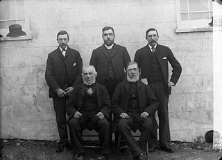 Elders of Deunant chapel (CM), Aberdaron (1896)