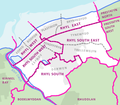 Electoral wards in the town of Rhyl, Denbighshire, Wales.png