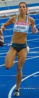 Eleni Artymata Cypriot sprinter