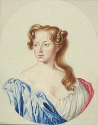 Elizabeth Seymour, Duchess of Somerset - Lady Elizabeth Percy, Lady Ogle by George Perfect Harding