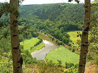 White Elster river