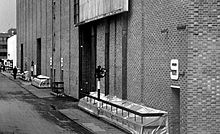 Sound stages at Elstree Studios.