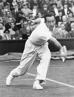 Elwood Cooke - Cook at the 1939 Wimbledon Championships