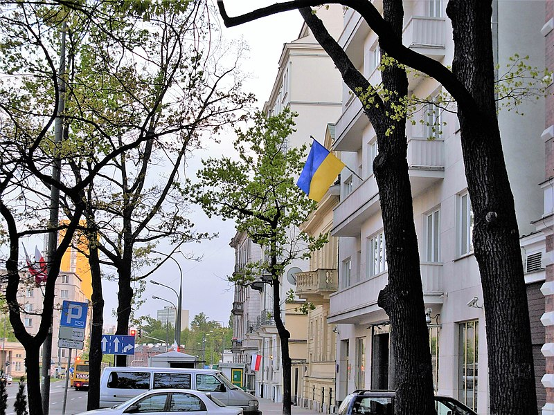 Plik:Embassy of Ukraine in Warsaw.jpg