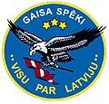 Emblem of Latvian air forces.JPG