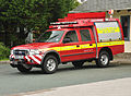 Emergency response vehicle, Princetown.jpg