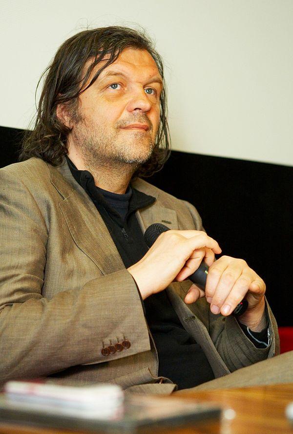 Photo Emir Kusturica via Wikidata