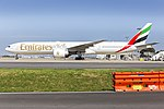 Emirates (A6-ECL) Boeing 777-36N(ER) at Sydney Airport.jpg