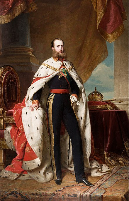 File:Emperador Maximiliano I de Mexico.jpg