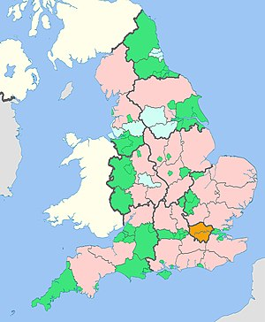 Subdivisions Of England Wikipedia