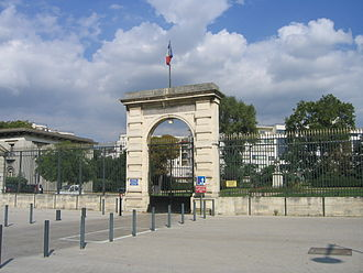 École nationale vétérinaire d'Alfort - The entrance gate
