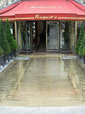 Fouquet's - The Fouquet's entrance