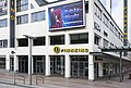 Entrance of Tennispalatsi movie theater in Helsinki, Finland, 2020 April.jpg