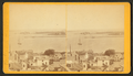 Entrance to Portland Harbor, Maine. Looking s.-e. from observatory on Munjoy Hill, from Robert N. Dennis collection of stereoscopic views.png