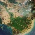 Envisat image of the Mekong Delta in Vietnam ESA210677.tiff