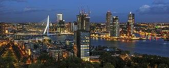 Rotterdam - Image: Erasmusbrug seen from Euromast