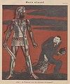 Erich Schilling – Mars staunt, Was - du Scheusal bist der britische Kriegsgott? (Mars marvel, British lies) 1939 Satirical cartoon No known copyright (low-res).jpg