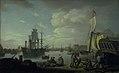Erik Pauelsen - Københavns havn set fra Larsens Plads - KMSsp880 - Statens Museum for Kunst.jpg