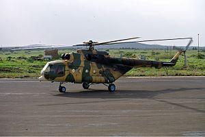Eritrean Air Force - An Eritrean Air Force Mil Mi-17