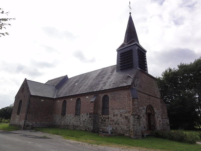 Erloy (Aisne) église Sainte-Eugénie