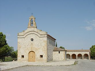 Fayón - Ermita de Sant Jordi shrine