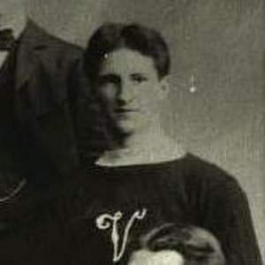 Ernie McLea - Photograph of McLea with Victorias team in 1897.