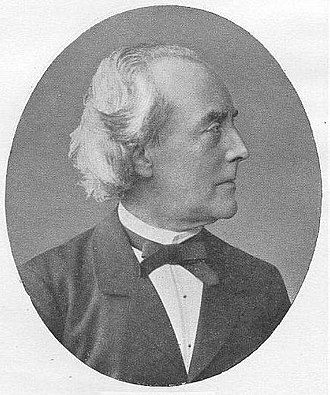 Ernst Curtius - Photograph from Imagines Philologorum  by Alfred Gudeman