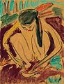Ernst Ludwig Kirchner - Kauerndes Mädchen (Fränzi).jpg