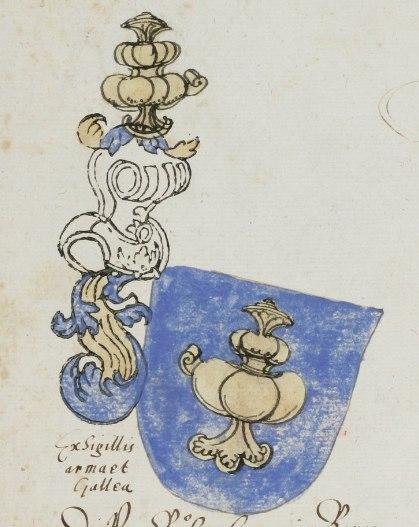 Escudo do reino de Galicia - XVI