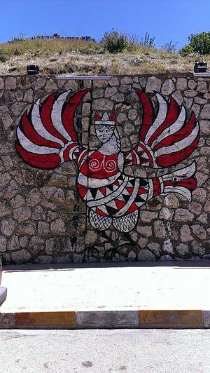 Eskipazar - Image: Eskipazar street art