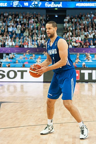 Gerald Lee (basketball) - Lee with Finland during EuroBasket 2017
