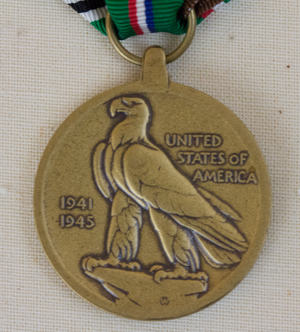 European–African–Middle Eastern Campaign Medal - Reverse