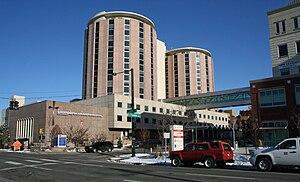 City Park West, Denver - Image: Exempla Saint Joseph Hospital