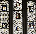 Exeter Cathedral, Medieval stained glass window (36749015771).jpg