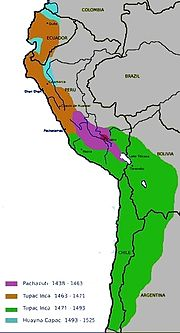 Inca expansion (1438–1527)
