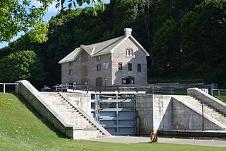 Bytown Museum Museum in Ontario, Canada lower locks of the Rideau Canal at the Ottawa River just below Parliament Hill