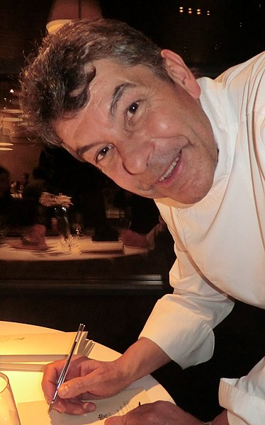 French Chef Régis Marcon in 2012.