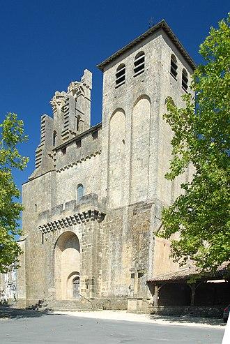 Saint-Avit-Sénieur - The church