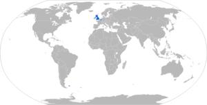 FV102 Striker - Map with FV102 operators in blue