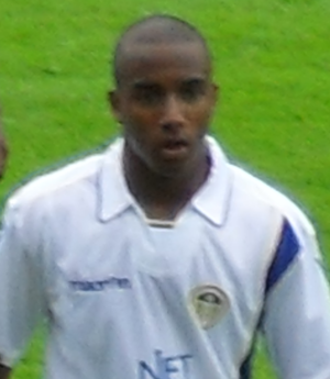 Fabian Delph - Delph playing for Leeds United in 2009