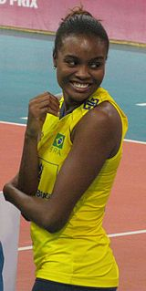 Fabiana Claudino Brazilian volleyball player