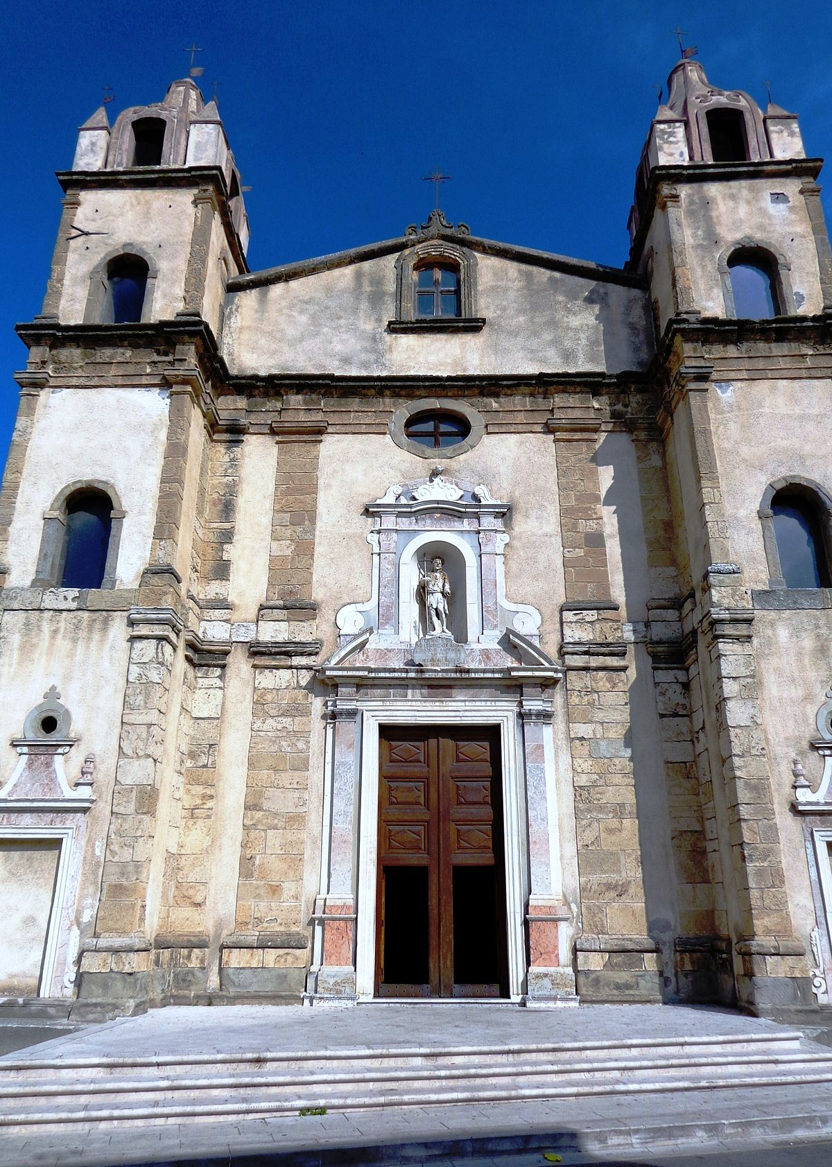 Chiesa di san giovanni battista barcellona pozzo di gotto for Arredamenti barcellona pozzo di gotto