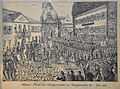 Fahnenweihe der Bürgerwache in Saulgau 29 Mai 1859.jpg