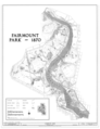 Fairmount Park; , Along Schuylkill River, Philadelphia, Philadelphia County, PA HABS PA,51-PHILA,696- (sheet 2 of 16).png