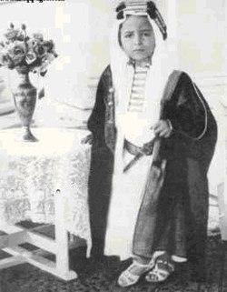 Faisal II Van Irak Het Model Voor Abdallah Kuifje