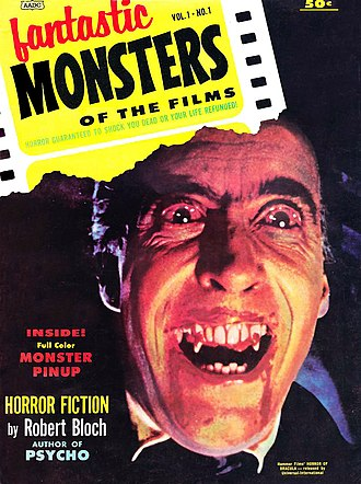 Famous Monsters of Filmland - Image: Fantastic Monsters No 1