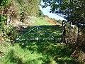 Farm gate at Hendreseifion - geograph.org.uk - 240557.jpg