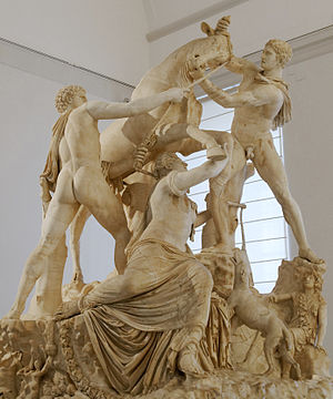 Dirce - The Farnese Bull
